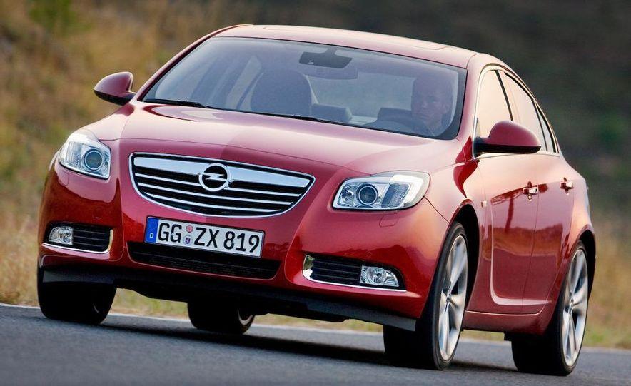 2009 Opel Insignia sedan - Slide 9