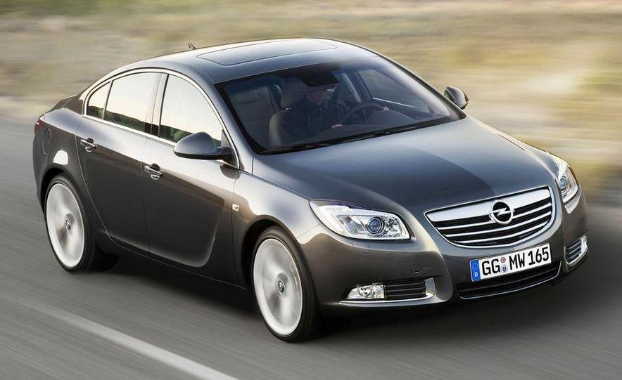 2009 Opel Insignia sedan - Slide 18
