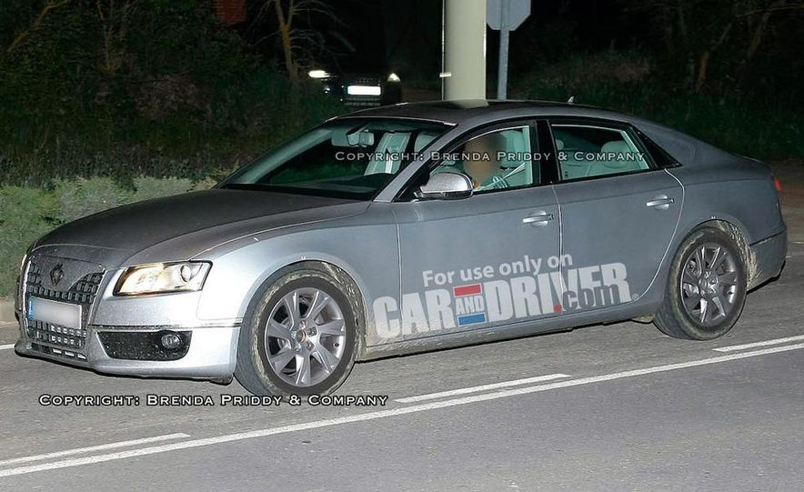 2011 Audi A5 Sportback (spy photo) - Slide 1