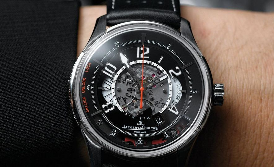 Jaeger-LeCoultre Aston Martin AMVOX2 DBS transponder watch - Slide 9