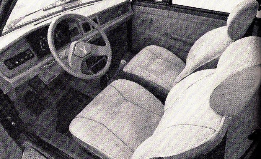 1986 Yugo GV - Slide 4