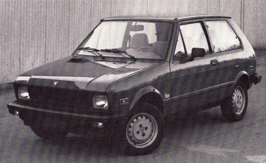 1986 Yugo GV - Slide 1