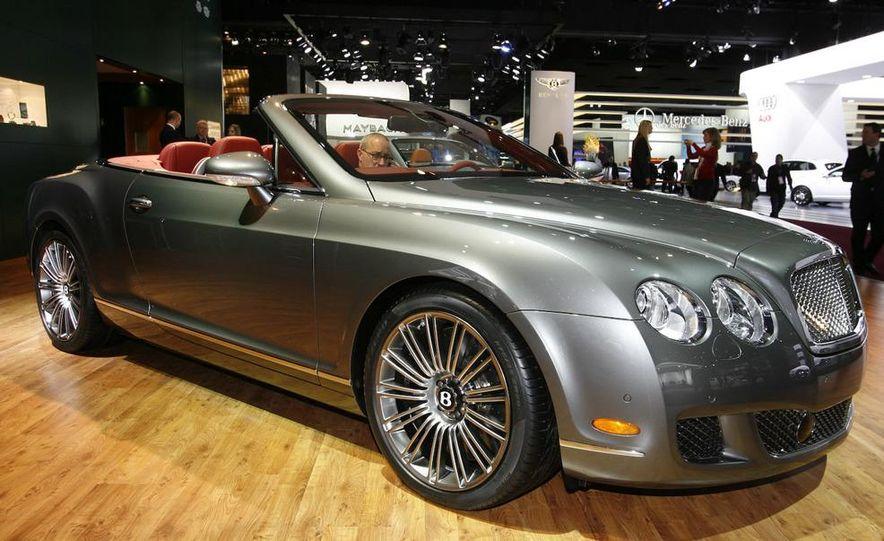 2009 Bentley Continental GTC Speed - Slide 1