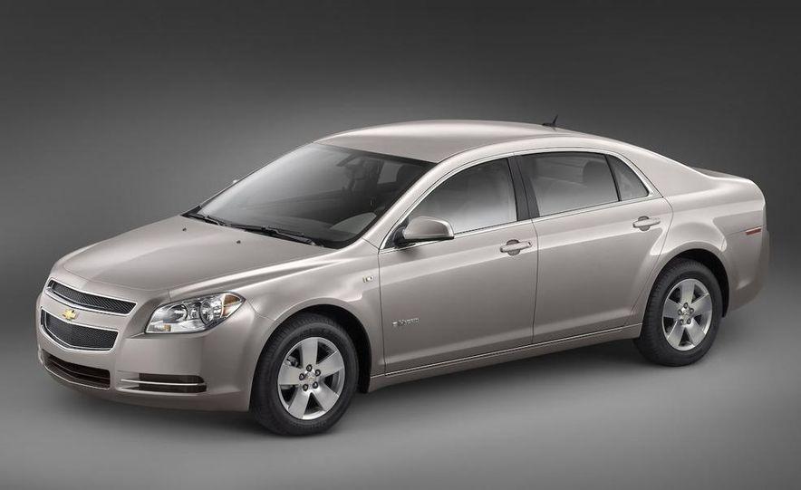 2010 Ford Fusion hybrid, 2009 Chevrolet Malibu hybrid, 2009 Toyota Camry hybrid, and 2009 Nissan Altima hybrid - Slide 49