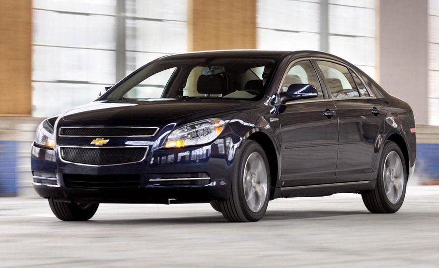 2010 Ford Fusion hybrid, 2009 Chevrolet Malibu hybrid, 2009 Toyota Camry hybrid, and 2009 Nissan Altima hybrid - Slide 34