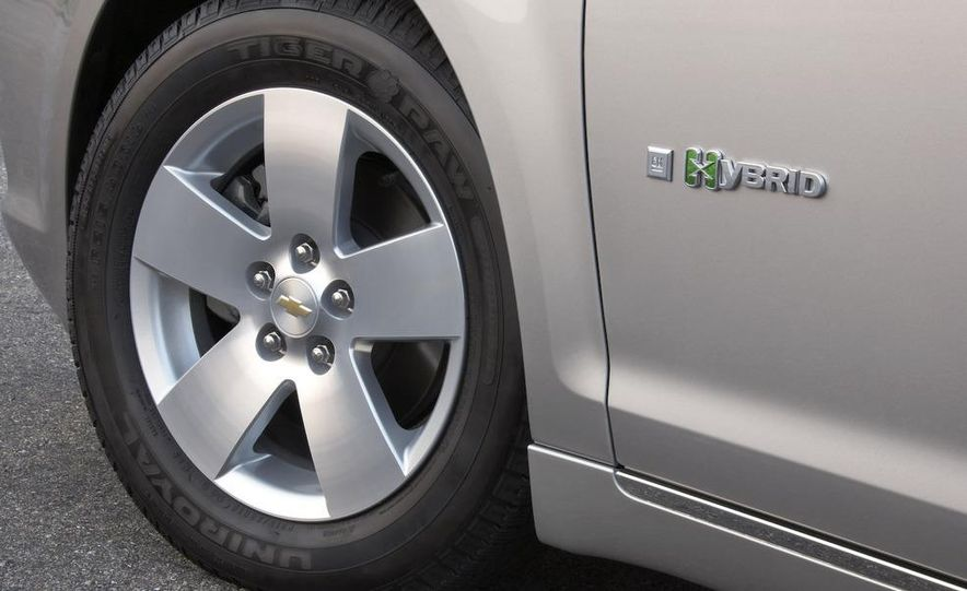 2010 Ford Fusion hybrid, 2009 Chevrolet Malibu hybrid, 2009 Toyota Camry hybrid, and 2009 Nissan Altima hybrid - Slide 58