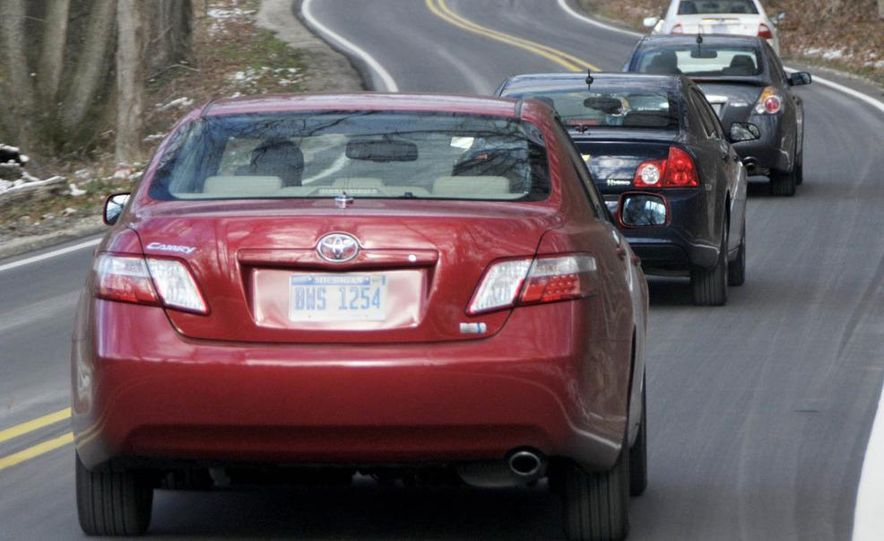 2010 Ford Fusion hybrid, 2009 Chevrolet Malibu hybrid, 2009 Toyota Camry hybrid, and 2009 Nissan Altima hybrid - Slide 11