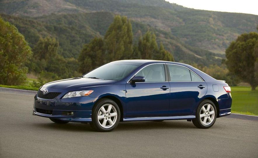 2010 Ford Fusion hybrid, 2009 Chevrolet Malibu hybrid, 2009 Toyota Camry hybrid, and 2009 Nissan Altima hybrid - Slide 91