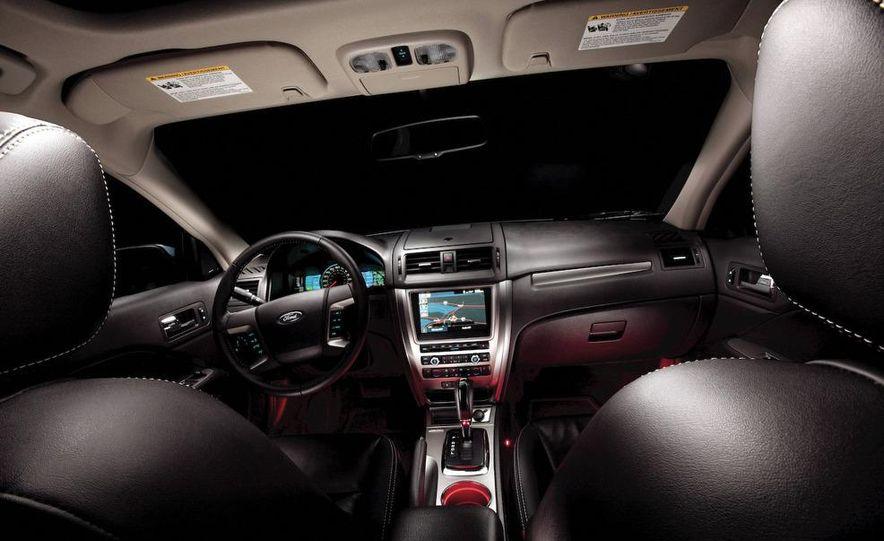 2010 Ford Fusion hybrid, 2009 Chevrolet Malibu hybrid, 2009 Toyota Camry hybrid, and 2009 Nissan Altima hybrid - Slide 38