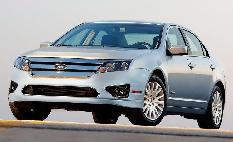2010 Ford Fusion hybrid, 2009 Chevrolet Malibu hybrid, 2009 Toyota Camry hybrid, and 2009 Nissan Altima hybrid - Slide 39