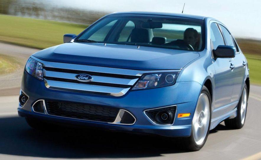 2010 Ford Fusion hybrid, 2009 Chevrolet Malibu hybrid, 2009 Toyota Camry hybrid, and 2009 Nissan Altima hybrid - Slide 55