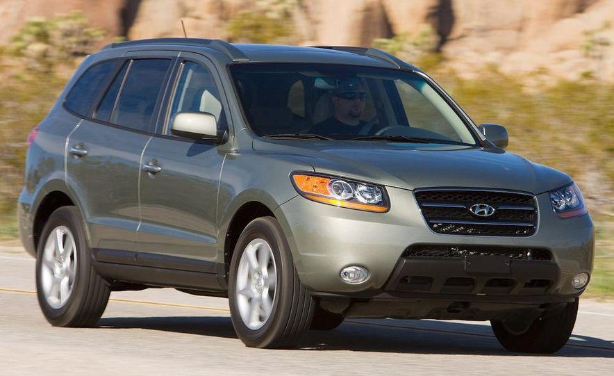 2009 Hyundai Santa Fe Limited AWD - Slide 16