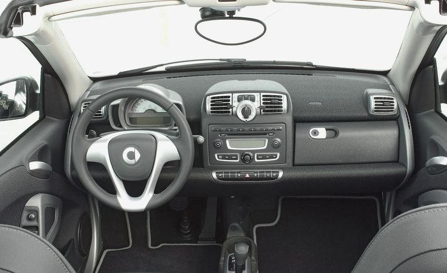 2008 Smart Fortwo Passion coupe interior - Slide 2