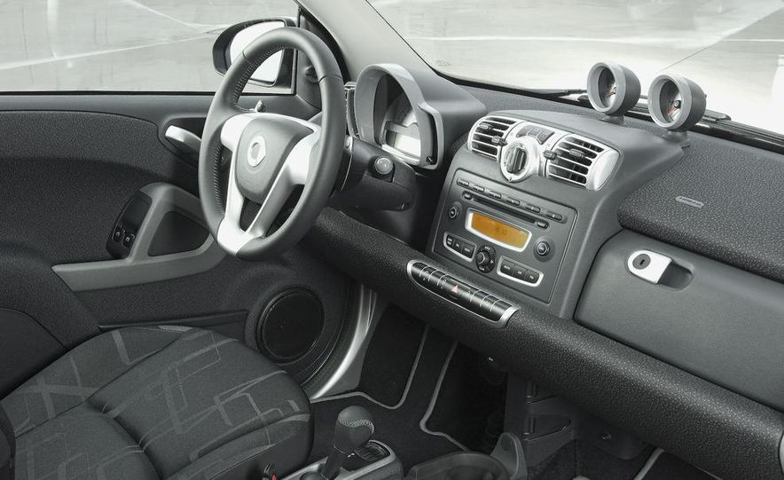 2008 Smart Fortwo Passion coupe interior - Slide 5
