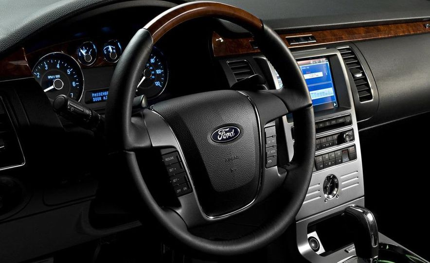2010 Ford Flex Limited EcoBoost navigation display - Slide 6