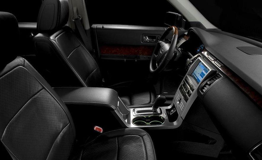 2010 Ford Flex Limited EcoBoost navigation display - Slide 10