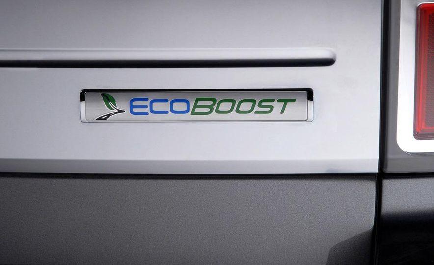 2010 Ford Flex Limited EcoBoost navigation display - Slide 7
