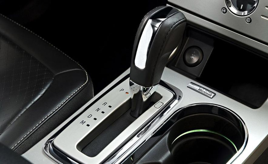2010 Ford Flex Limited EcoBoost navigation display - Slide 17