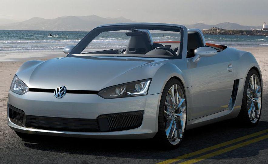 Volkswagen Concept BlueSport - Slide 20