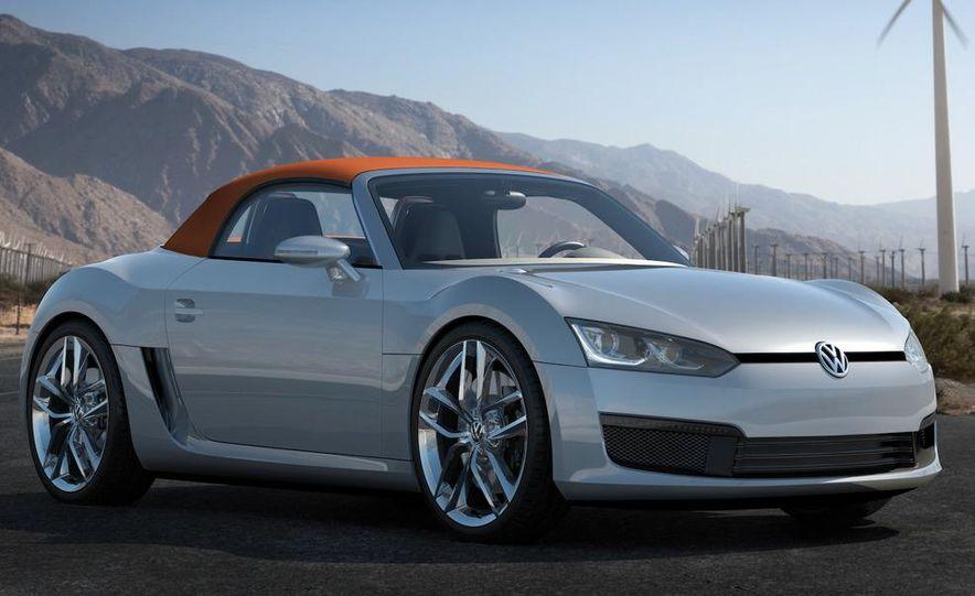 Volkswagen Concept BlueSport - Slide 22