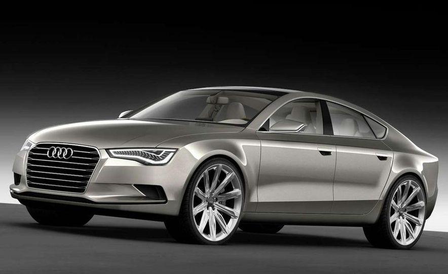Audi A7 Sportback concept - Slide 21