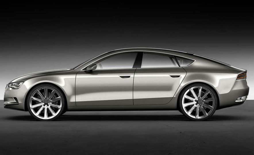 Audi A7 Sportback concept - Slide 23