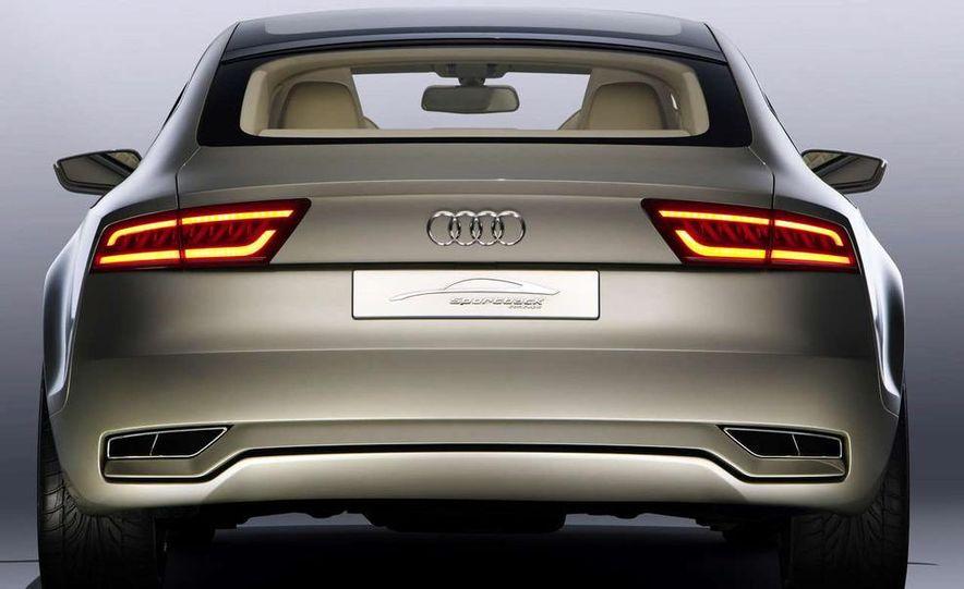 Audi A7 Sportback concept - Slide 24