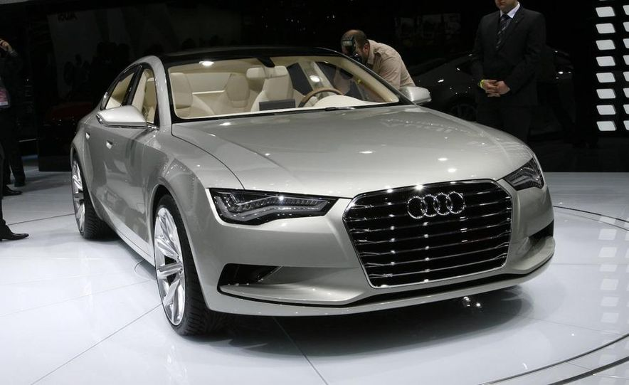 Audi A7 Sportback concept - Slide 1