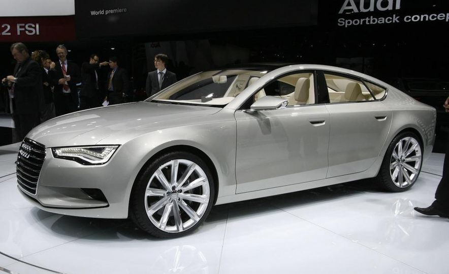 Audi A7 Sportback concept - Slide 4