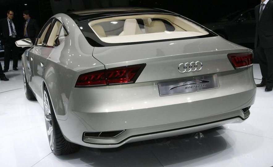 Audi A7 Sportback concept - Slide 6