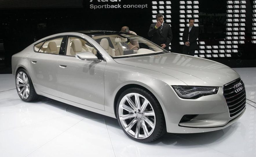 Audi A7 Sportback concept - Slide 12