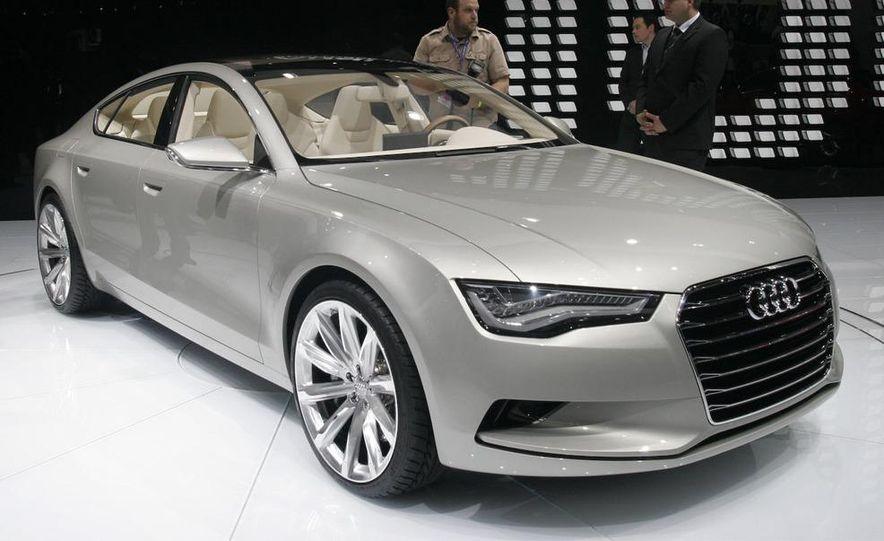 Audi A7 Sportback concept - Slide 13