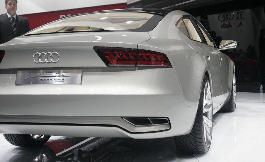 Audi A7 Sportback concept - Slide 16