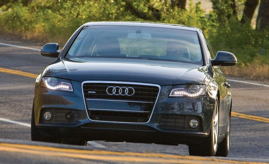 Audi A4 2.0-liter turbocharged inline-4 engine - Slide 2