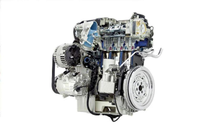 Audi A4 2.0-liter turbocharged inline-4 engine - Slide 35