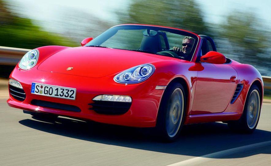 2012 Porsche Boxster (spy photo) - Slide 11