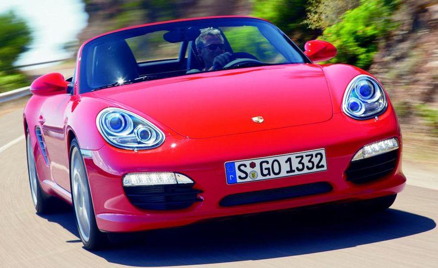 2012 Porsche Boxster (spy photo) - Slide 12