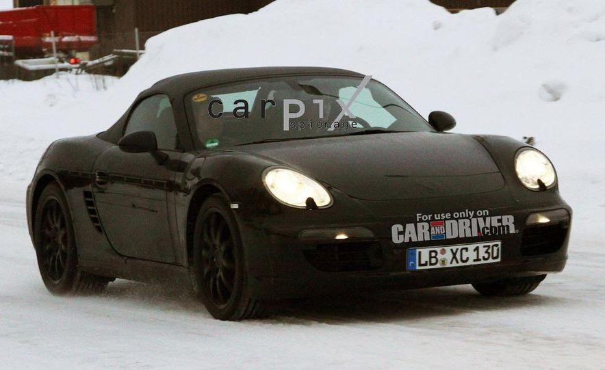 2012 Porsche Boxster (spy photo) - Slide 1