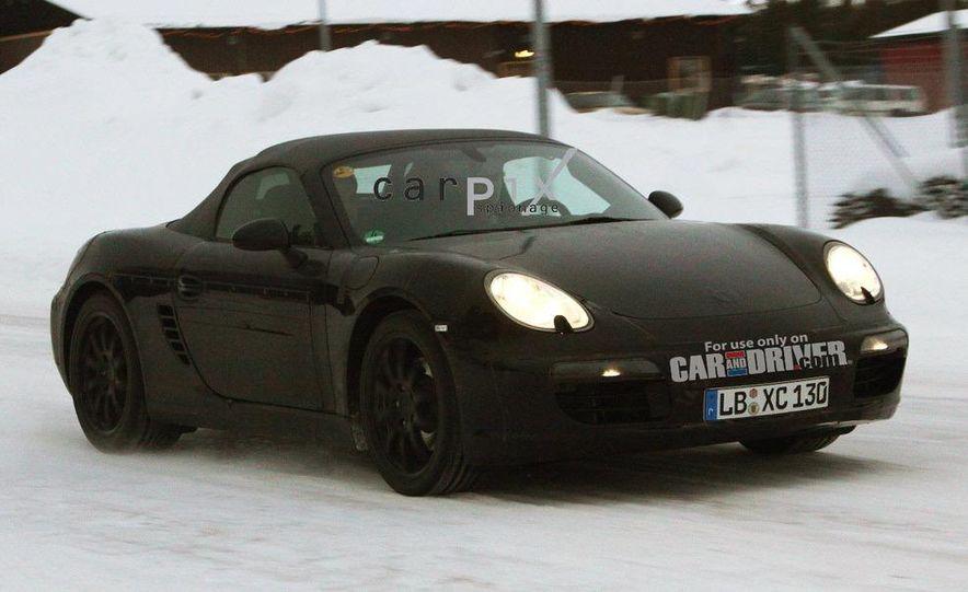 2012 Porsche Boxster (spy photo) - Slide 2