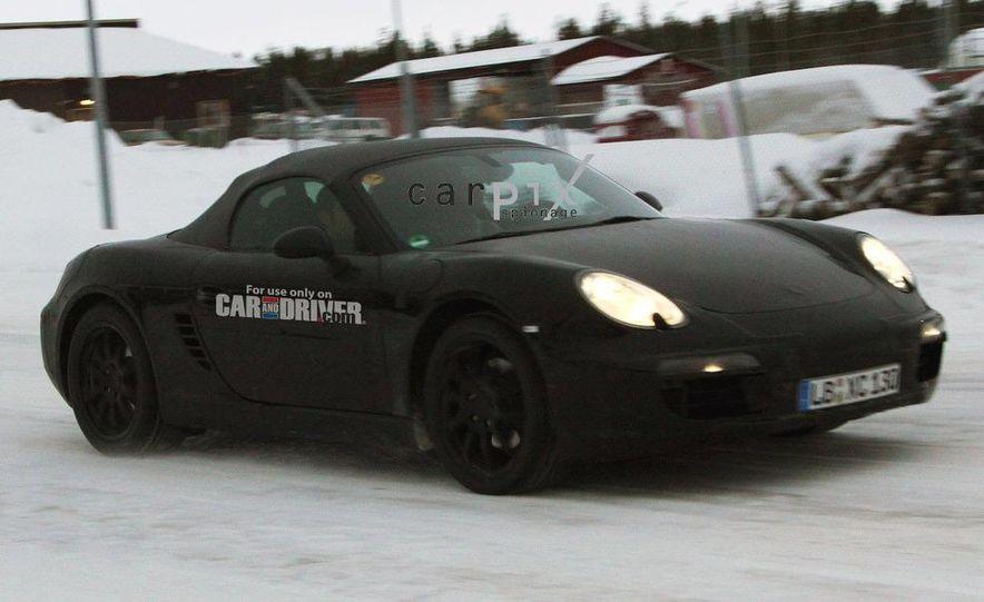 2012 Porsche Boxster (spy photo) - Slide 3