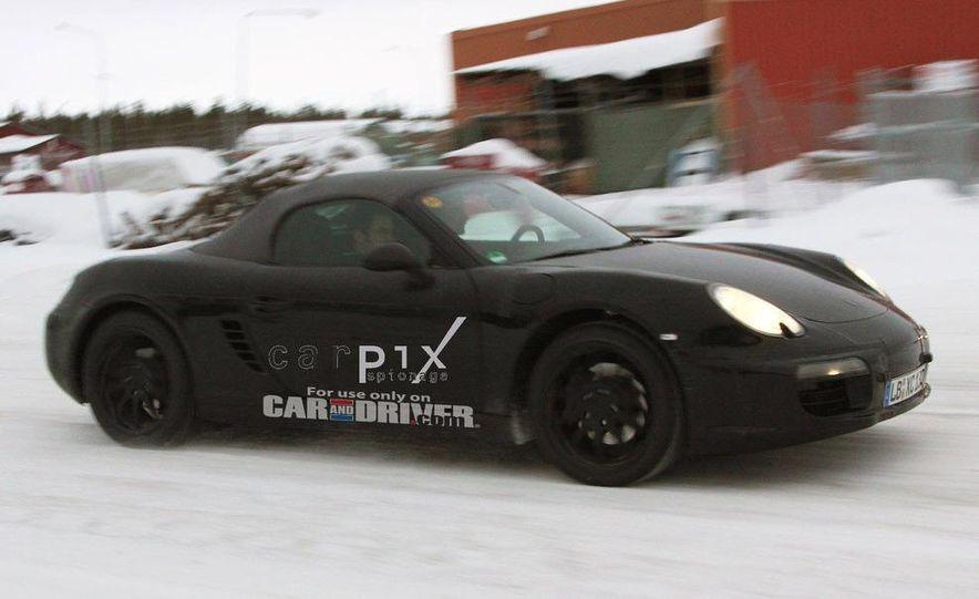 2012 Porsche Boxster (spy photo) - Slide 4