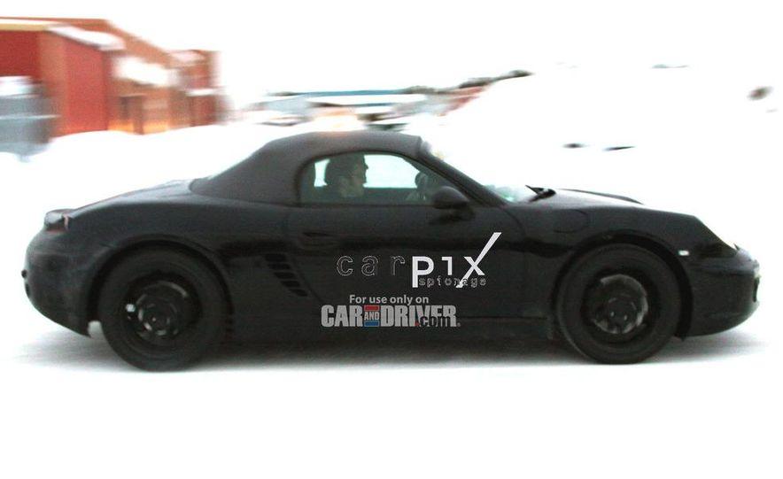 2012 Porsche Boxster (spy photo) - Slide 5