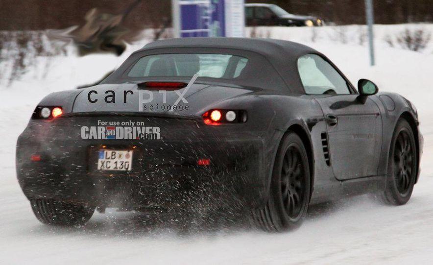 2012 Porsche Boxster (spy photo) - Slide 6