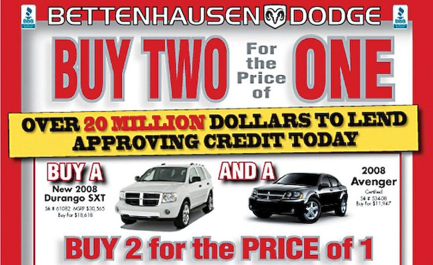 Buy Two, Get One Free offer - Slide 1