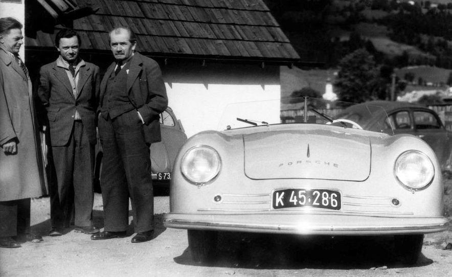 The Porsche Type 64, ancestor of all Porsche sports cars. - Slide 27