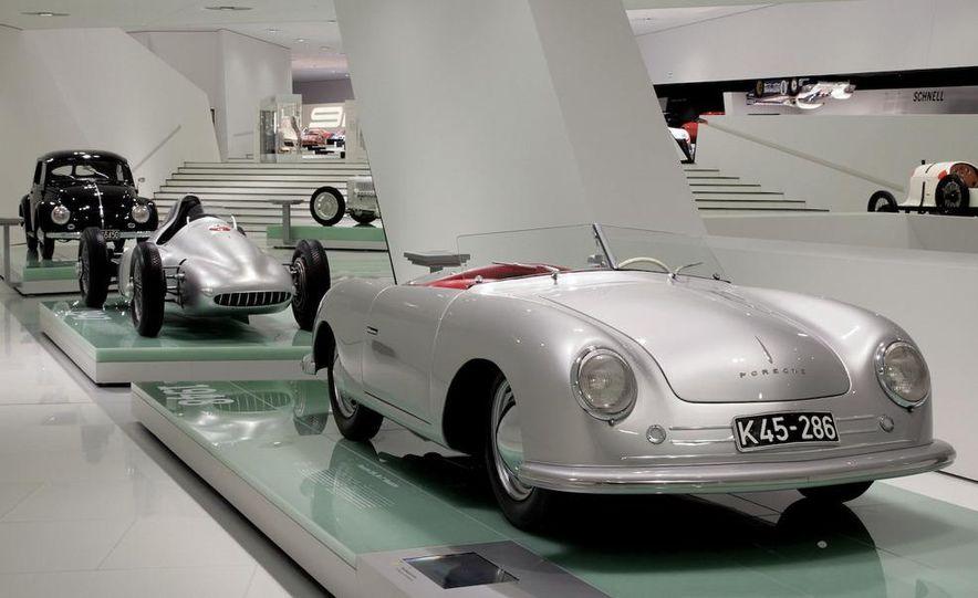The Porsche Type 64, ancestor of all Porsche sports cars. - Slide 3