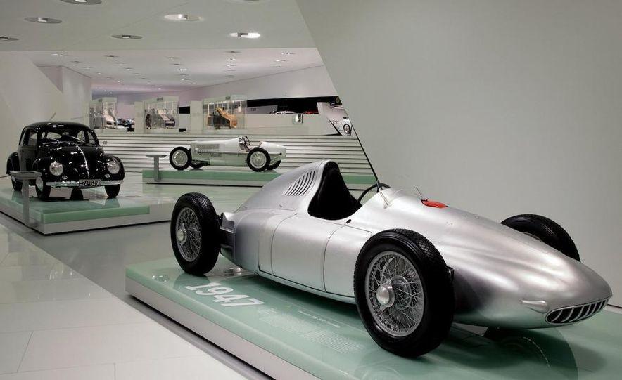 The Porsche Type 64, ancestor of all Porsche sports cars. - Slide 2
