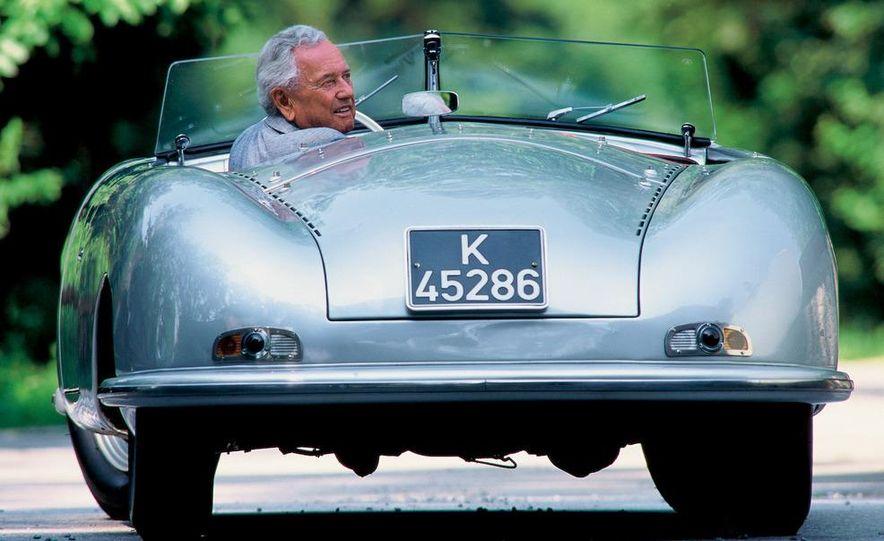 The Porsche Type 64, ancestor of all Porsche sports cars. - Slide 22