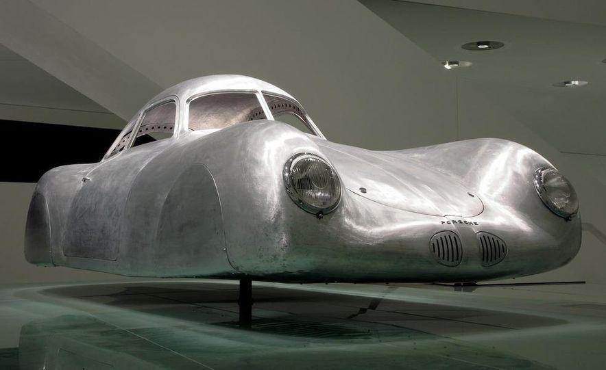The Porsche Type 64, ancestor of all Porsche sports cars. - Slide 1