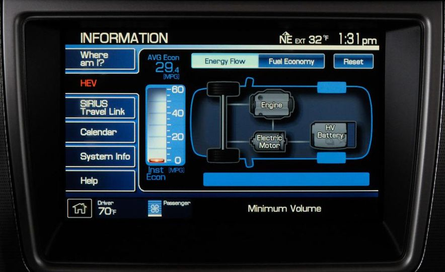 2010 Ford Fusion hybrid - Slide 23
